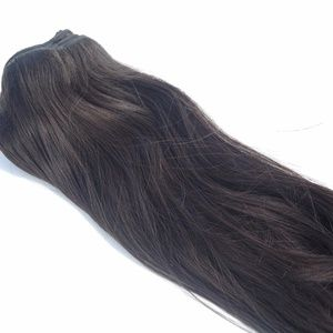 """Accessories - 22"""" Inch Natural Straight Human Hair Extensions"""